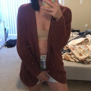 Charlotte Russe Knitted Cardigan